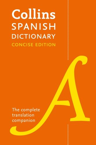 9780008241346 Collins Spanish Concise Dictionary