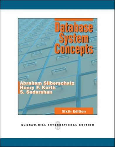 9780071289597 Database System Concepts (Int'l Ed)