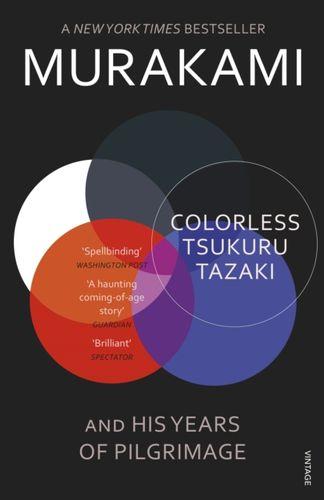 9780099590378 Colorless Tsukuru Tazaki and His Years of Pilgrimage