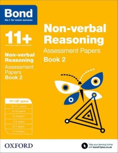 9780192740298 Bond 11+: Non-verbal Reasoning: Assessment Papers
