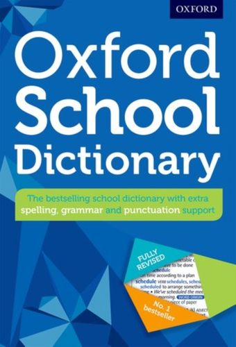 9780192743503 Oxford School Dictionary