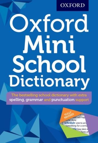 9780192747082 Oxford Mini School Dictionary