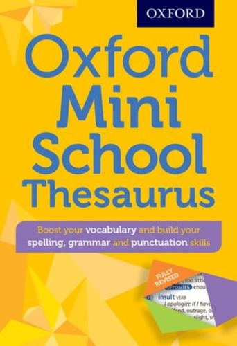 9780192747099 Oxford Mini School Thesaurus