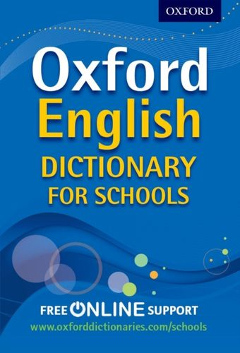9780192756992 Oxford English Dictionary for Schools