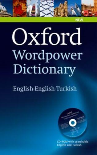 9780194323406 Oxford Wordpower Dictionary English-English-Turkish