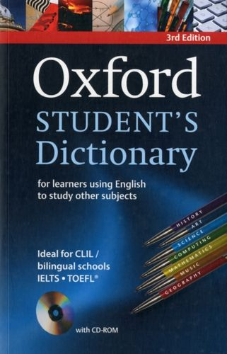 9780194331357 Oxford Student's Dictionary Paperback with CD-ROM