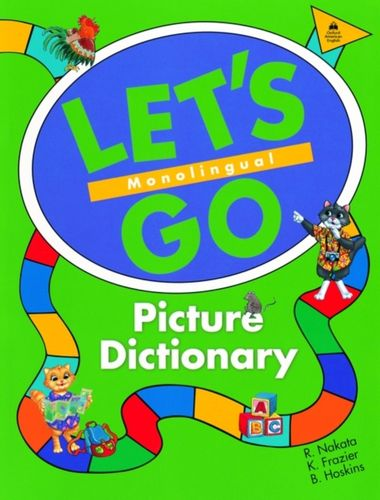 9780194358651 Let's Go Picture Dictionary: Monolingual English Edition