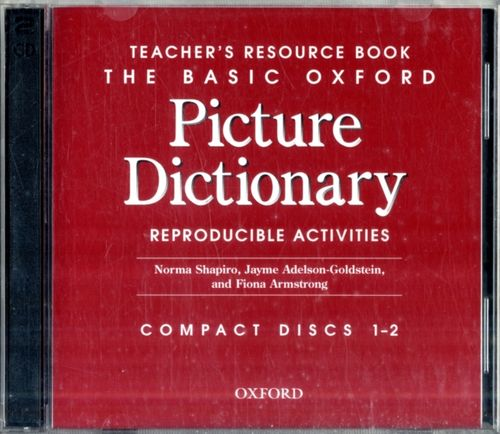 9780194385992 Basic Oxford Picture Dictionary: Basic Oxford Picture Dictionary 2nd Edition Teacher's Resource Book CD