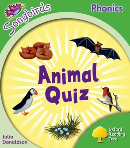 9780198388197 Oxford Reading Tree: Level 2: More Songbirds Phonics