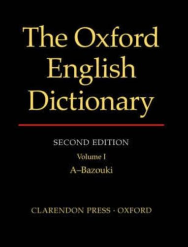 9780198611868 Oxford English Dictionary