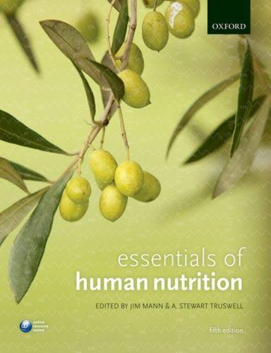 9780198752981 Essentials of Human Nutrition