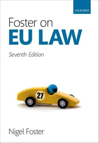 9780198839804 Foster on EU Law