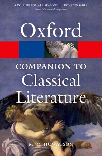 9780199548552 Oxford Companion to Classical Literature