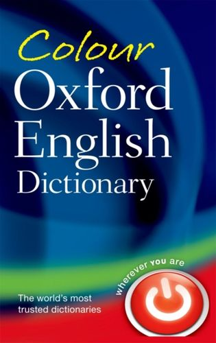9780199607914 Colour Oxford English Dictionary