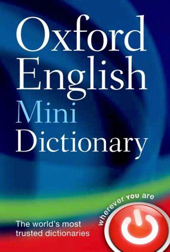 9780199640966 Oxford English Mini Dictionary