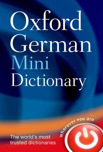 9780199692668 Oxford German Mini Dictionary