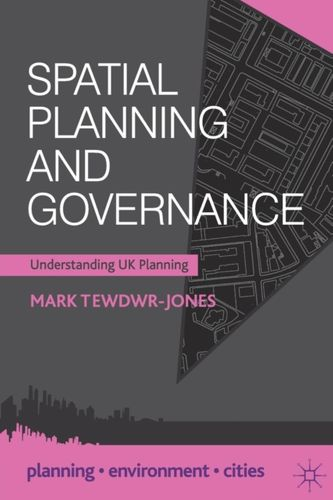 9780230292192 Spatial Planning and Governance