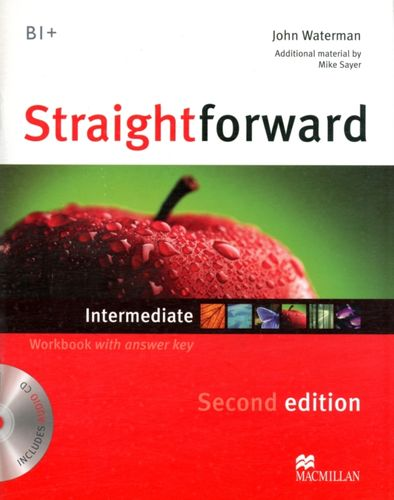 9780230423268 Straightforward 2nd Edition Intermediate Level Workbook with key & CD Pack