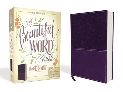 9780310446118 KJV, Beautiful Word Bible, Large Print, Hardcover, Red Letter Edition
