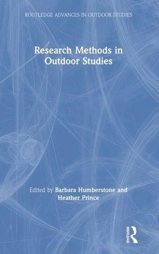 9780367188702 Research Methods in Outdoor Studies