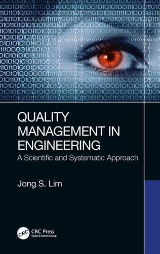 9780367230081 Quality Management in Engineering