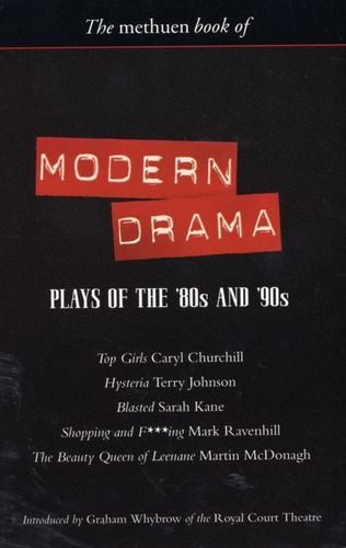 9780413764904 Modern Drama: Plays of the '80s and '90s