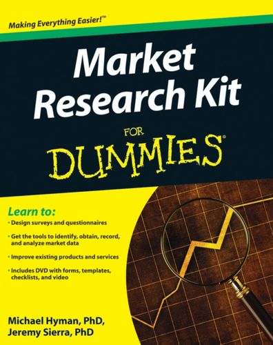 9780470520680 Marketing Research Kit For Dummies