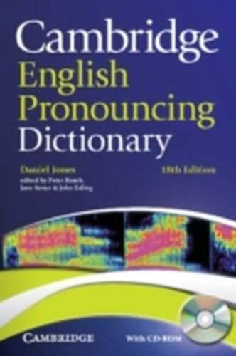 9780521152556 Cambridge English Pronouncing Dictionary with CD-ROM