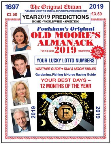 9780572047337 Old Moore's Almanac 2019
