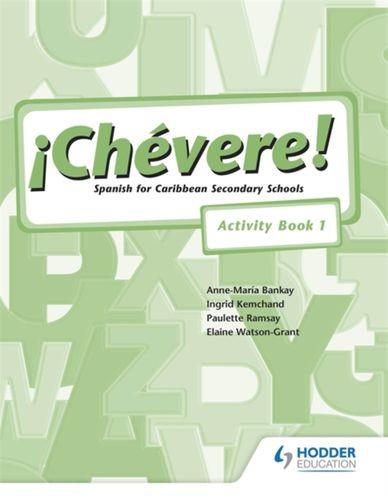 9780582853195 Chevere! Activity Book 1