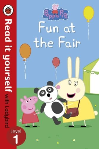 9780723295228 Peppa Pig: Fun at the Fair - Read it yourself with Ladybird