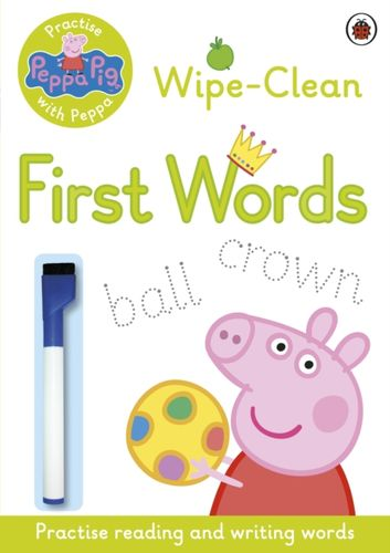 9780723297789 Peppa Pig: Practise with Peppa: Wipe-Clean First Words