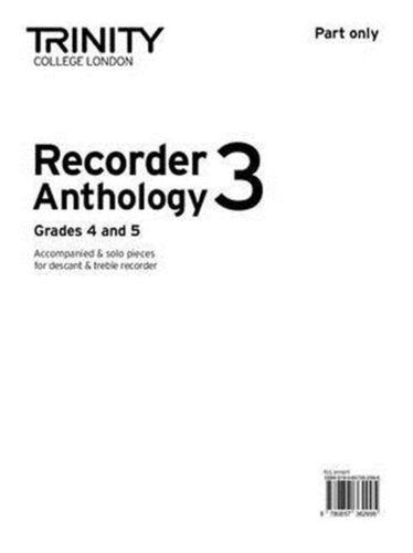 9780857362995 Recorder Anthology 3 Grades 4-5 (part)