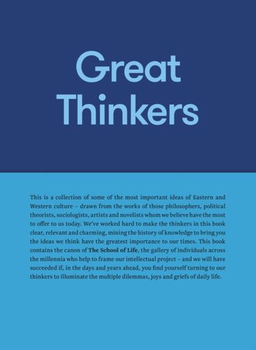 9780993538704 Great Thinkers