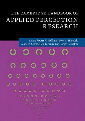 9781107096400 Cambridge Handbook of Applied Perception Research 2 Volume Hardback Set