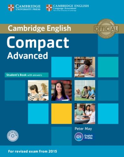9781107418028 Compact Advanced Student's Book with Answers with CD-ROM