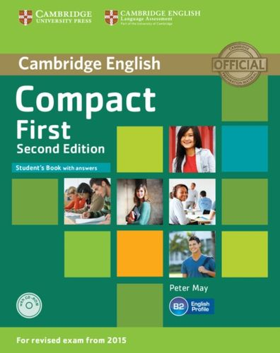 9781107428447 Compact First Student's Book with Answers with CD-ROM