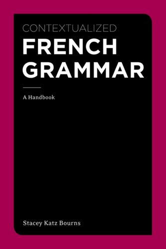 9781111354145 Contextualized French Grammar