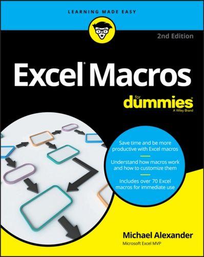 9781119369240 Excel Macros For Dummies