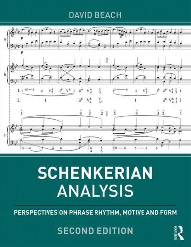 9781138319554 Schenkerian Analysis