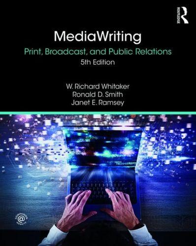 9781138341784 MediaWriting