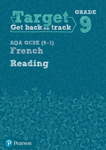 9781292246055 Target Grade 9 Reading AQA GCSE (9-1) French Workbook