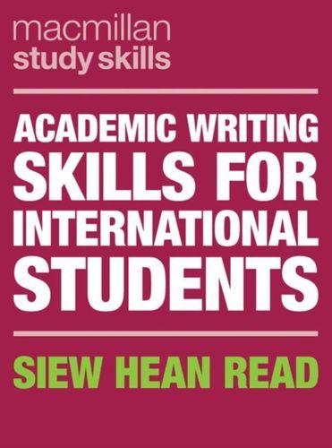 9781352003758 Academic Writing Skills for International Students