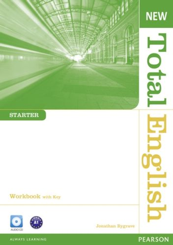 9781408267394 New Total English Starter Workbook with Key and Audio CD Pack