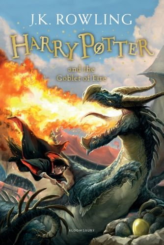 9781408855683 Harry Potter and the Goblet of Fire
