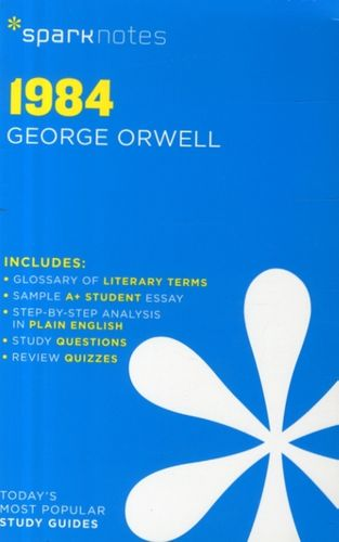 9781411469389 1984 SparkNotes Literature Guide