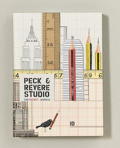 9781419718083 Peck & Revere Studio Two-Pocket Journal