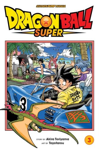 9781421599465 Dragon Ball Super, Vol. 3