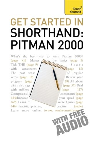 9781444102963 Get Started In Shorthand: Pitman 2000