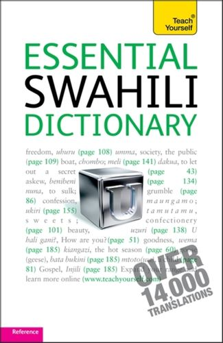 9781444104080 Essential Swahili Dictionary: Teach Yourself